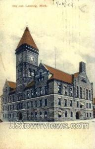 City Hall  Lansing MI 1917