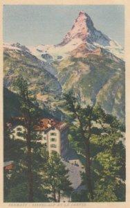 ZERMATT, Switzerland, 1900-10s; Riffel-Alp Et Le Cervin