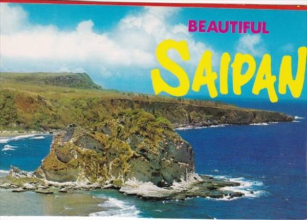 Saipan Beautiful Coastal Scene