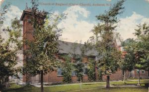 AMHERST, Nova Scotia, Canada, PU-1916; Church Of England (Christ Church)