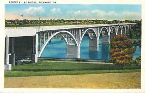 Robert E. Lee Bridge, Richmond, VA, Virginia, Linen