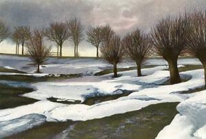 Short Trees  (Watercolor)