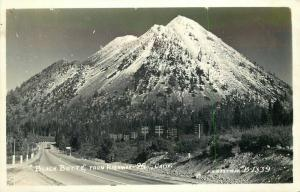 Black Butte Eastman Highway 99 1940s Siskiyou California RPPC  Postcard 2226