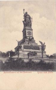 Gruss Vom Rhein, Monument, Nationaldenkmal Auf Dem Niederwald (Rüdesheim am ...