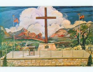Pre-1980 SHRINE OF THE RED ROCKS Sedona - Near Flagstaff Arizona AZ E5860-12