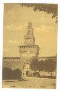 MILANO, Italy ,00-10s Torre del Filarete. Il Castello