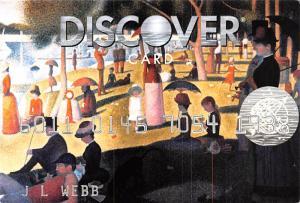 JL Webb - Discover Card