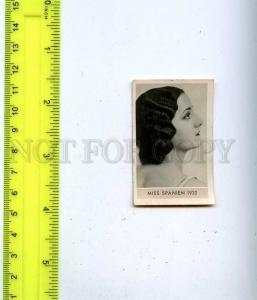 188466 Miss SPAIN 1932 year Vintage photo CIGARETTE card