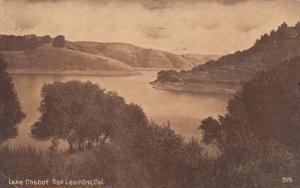 Lake Chabot, SAN LEANDRO, California, PU-1922