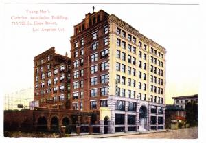 LOS ANGELES, California, 1900-1910's; Young Men's Christian Association Bldg.