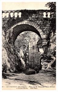 France Le Faquet  Pont de la Chapelle Saint Michael a Sainte Barbe