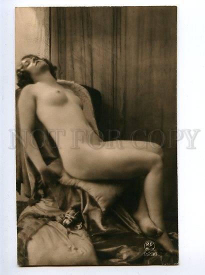 128978 NUDE Woman DREAM Vintage PHOTO PC Paris #2236 PC