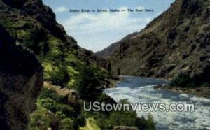 Snake River, ID, Post Cards;   Snake River, Idaho Snake River ID Unused