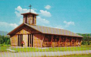 Vermont Stowe Church Of The Blessed Sacrament 1968