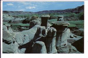 Hoodoos, Drumheller, Alberta,