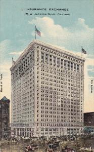 COLUMBUS, Ohio, PU-1912; Insurance Exchange, Board Of Trade, Advertisement On...