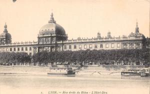 France Lyon Rive droite du Rhone L'Hotel-Dieu CPA