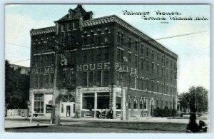 GRAND ISLAND, Nebraska NE ~ PALMER HOUSE Photoette ca 1910s  Postcard