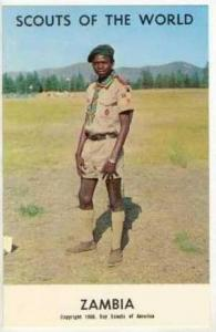 Scouts Of The World, ZAMBIA, 1968