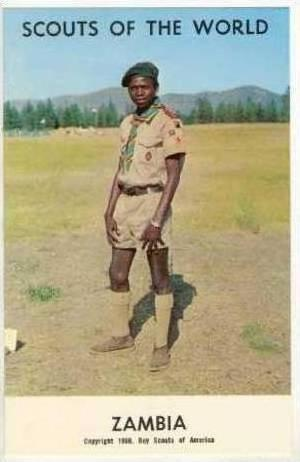 Scouts Of The World, ZAMBIA, 1968
