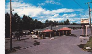 Exterior,  Log Cabin Sylvan Motel,  Quesnel, B.C., Canada,  40-60s