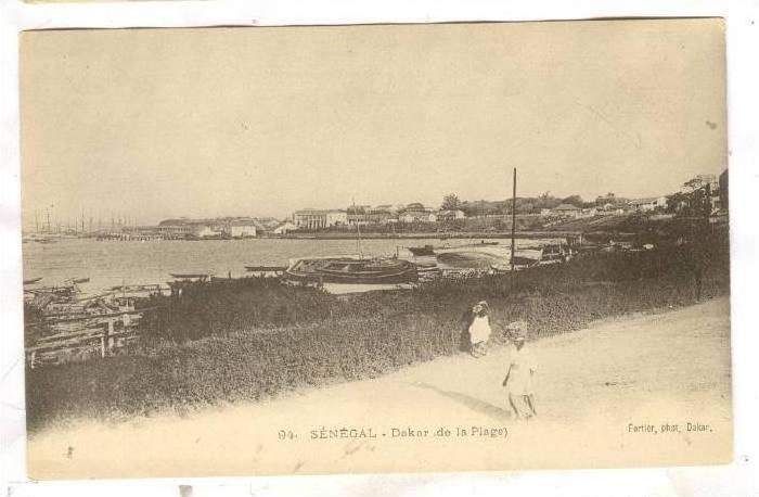 Boats, Dakar, De La Plage, Dakar, Senegal, Africa, 1900-1910s