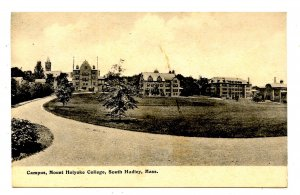 MA - South Hadley. Mt Holyoke College, Campus View