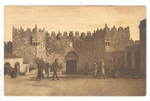 The Damascus Gate, Officers, Jerusalem, Palestine, 1900-1910s