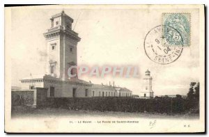 Old Postcard Le Havre Sainte address Lighthouse