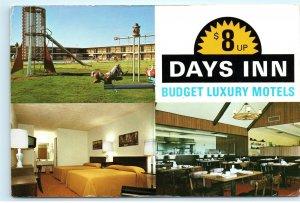Days Inn Motel Wildwood Florida Vintage 4x6 Postcard E01