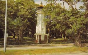 Mississippi Biloxi Baldwin Wood Lighthouse