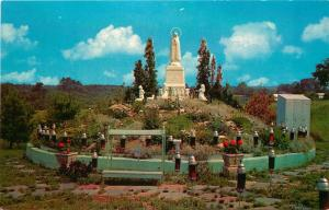 West Scarboro, ME, Shrine of our Lady of Fatima, Chrome Vintage Postcard d3349