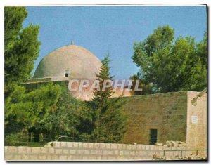 Postcard Modern Rachel's Tomb near Bethlehem the road