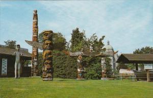 Canada Victoria Thunderbird Park and Totem Poles