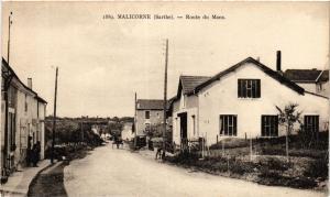 CPA MALICORNE - Route du MANS (390923)