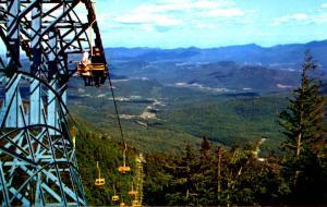 NY - Adirondacks. Whiteface Mountain (Aerial Lift)