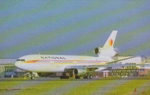 National Airlines McDonnell Douglas DC-10-30 At London Heathrow Airport