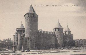 CARCASSONNE, France, 1910-1920s, Cite de Carcassonne - Le Chateau