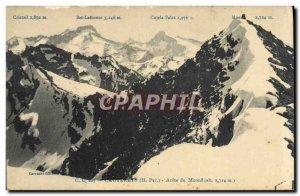Old Postcard Cauterets Arrete the Monne