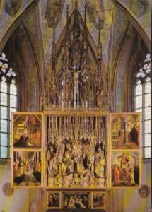 Austria St Wolfgang Wallfahrtskirche Gotische Fluegelaltar