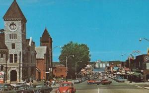Stunning Birds Eye Aerial Main Street Midland Huronia Ontario Canada Postcard