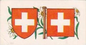 Brooke Bond Tea Trade Card Flags &amp  Emblems No 31 Switzerland