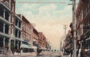 ORILLIA , Ontario , Canada , 1910 ; Mississaga Street , Looking East ; Copy-2