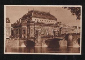 059604 Czechia Prag Nationaltheater  Vintage PC