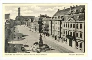 Aerial View of Street & City,Augsburg,Germany 1900-10s