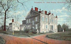 PHILADELPHIA~ATTORNEY BENJAMIN CHEW MANSION -O S BUNNELL PUBLISH 1910s POSTCARD