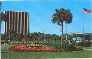 Bandshell, Eola Park & the Trust Company of Florida Building, Orlando FL, Chrome