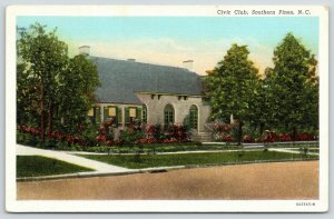 Southern Pines NC~Civic Club~Helen Boyd Dull & Miss Anna Jenks Founders~1940