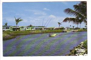 Rainbow Isles, Trailer, Mobile Home Living, Motor Boat, Pompano Beach, Florida,