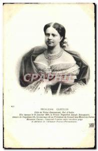 Old Postcard Princess Clotilde daughter of Victor Emmanuel King of Italy
